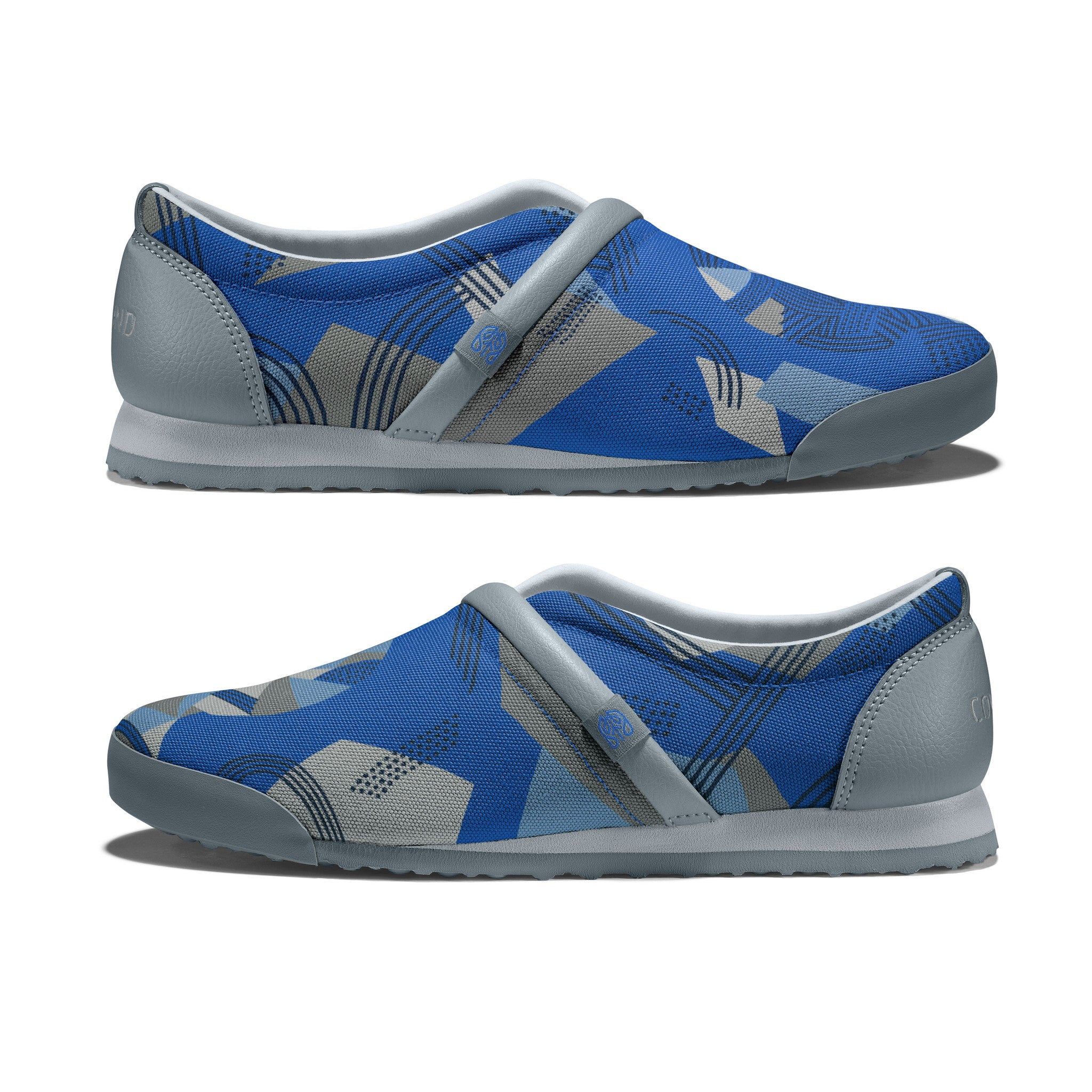 Strong_Blue - Common Ground Footwear Shoes Side View