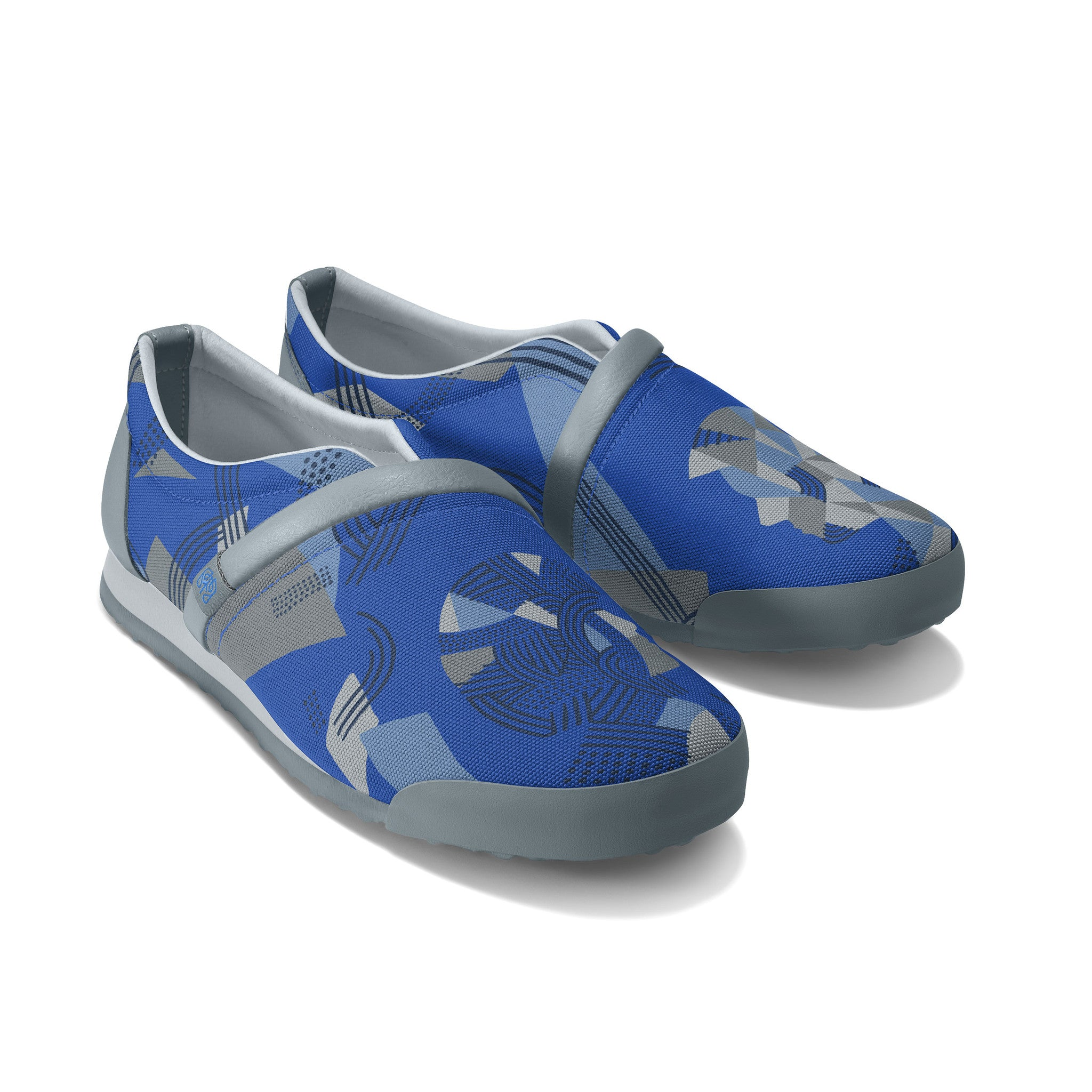 Strong_Blue - Common Ground Footwear Shoes Right Perspective View