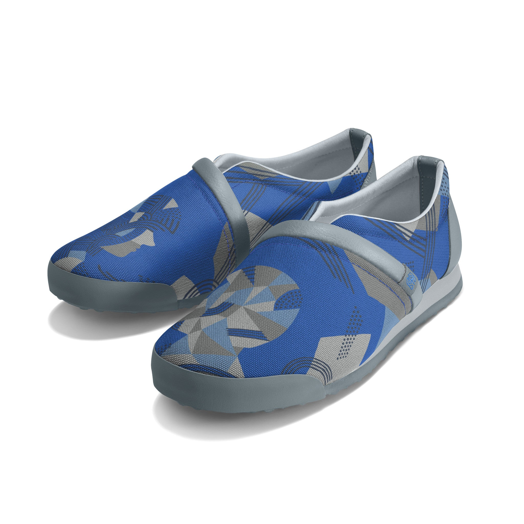 Strong_Blue - Common Ground Footwear Shoes Left Perspective View