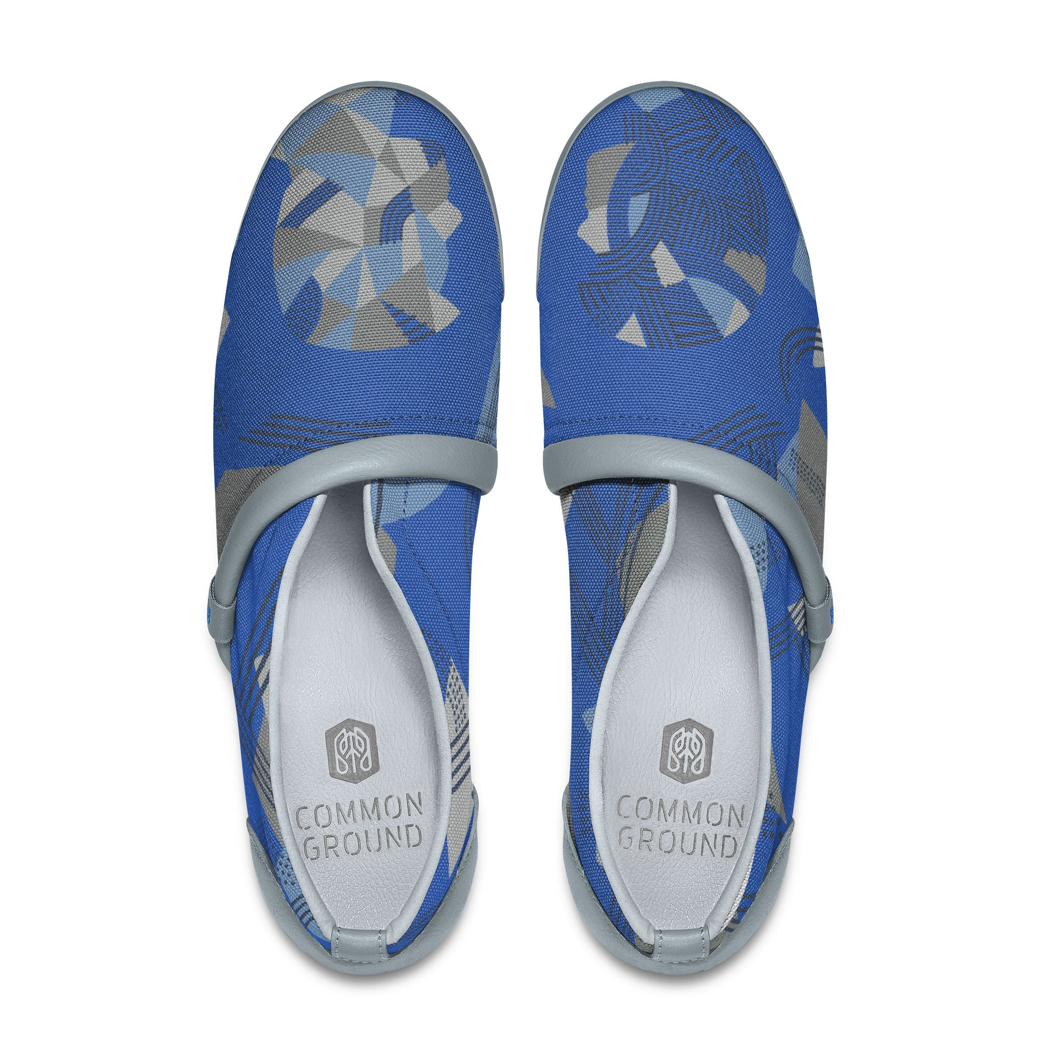 Strong_Blue - Common Ground Footwear Shoes Top View