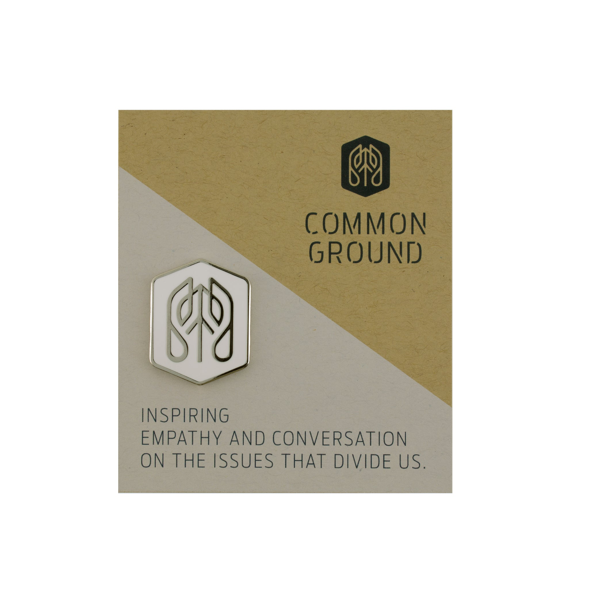 Bright_White - Common Ground Badge Pin Card View