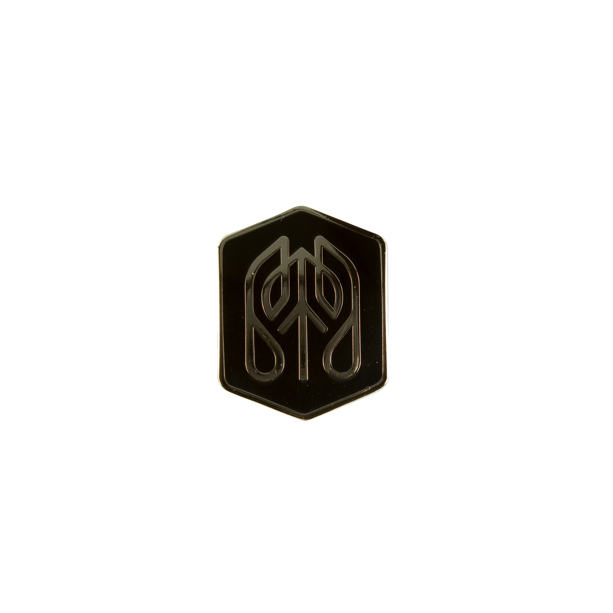 Jet_Black - Common Ground Badge Pin Front View