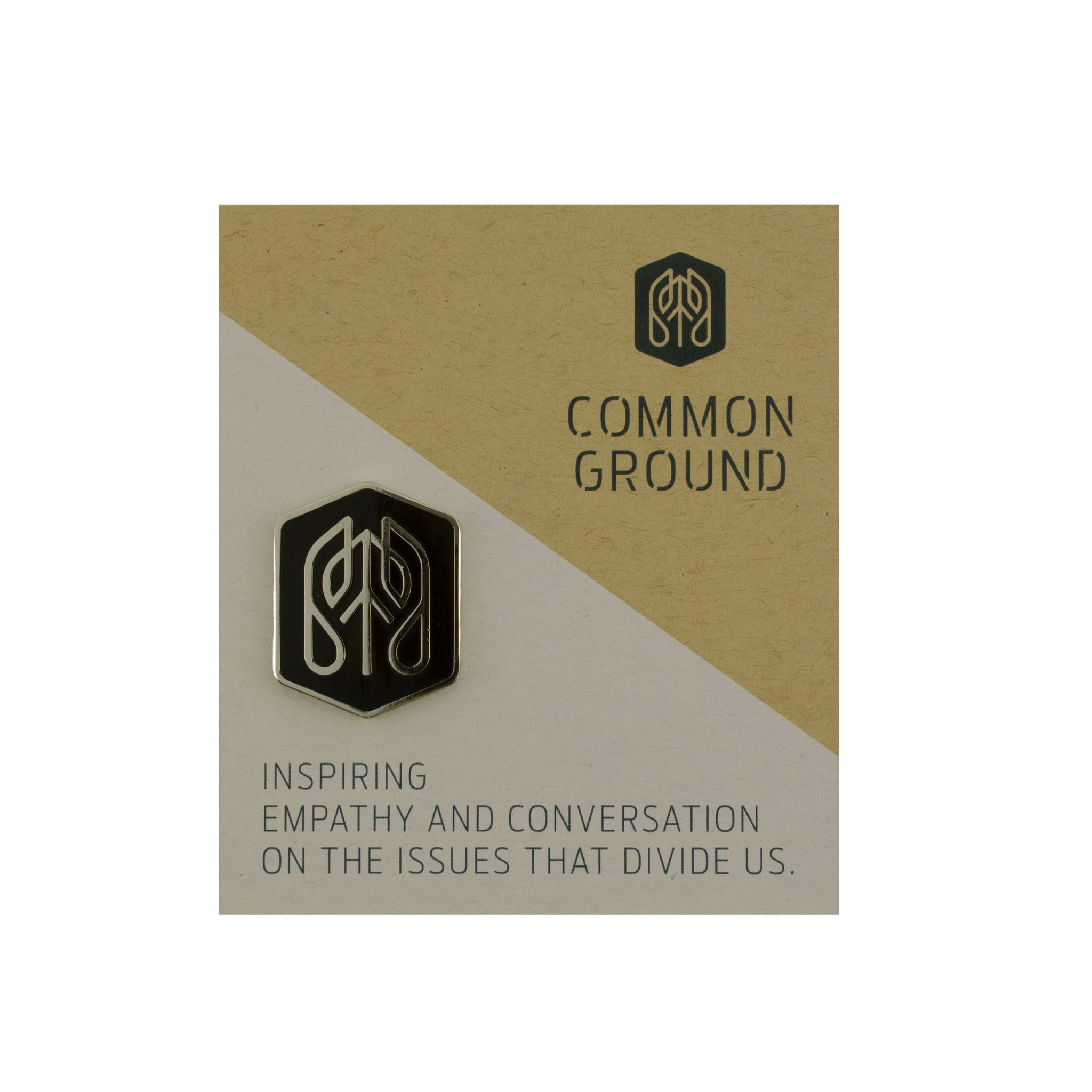 Jet_Black - Common Ground Badge Pin Card View