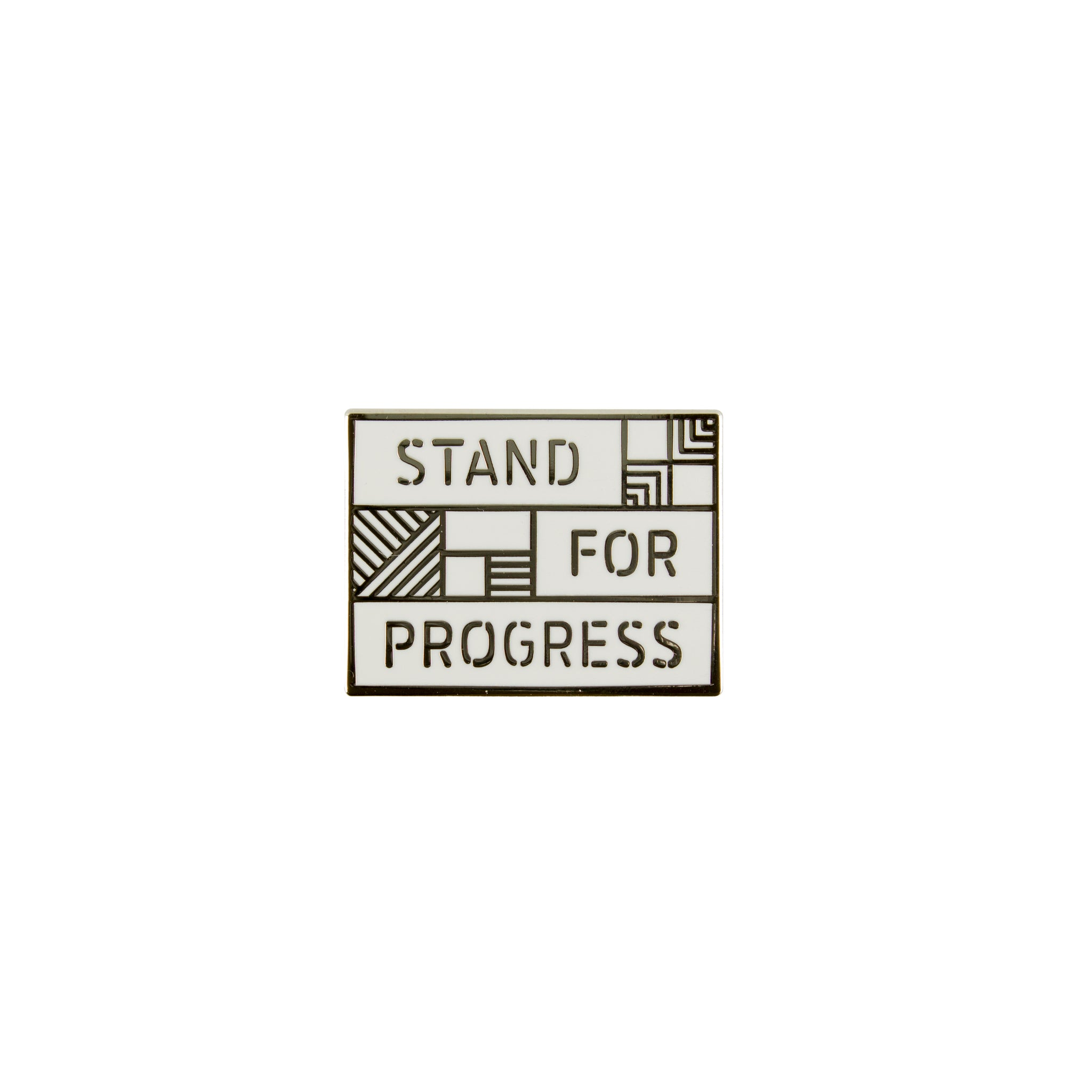 Bright_White - Stand For Progresse Pin Front View