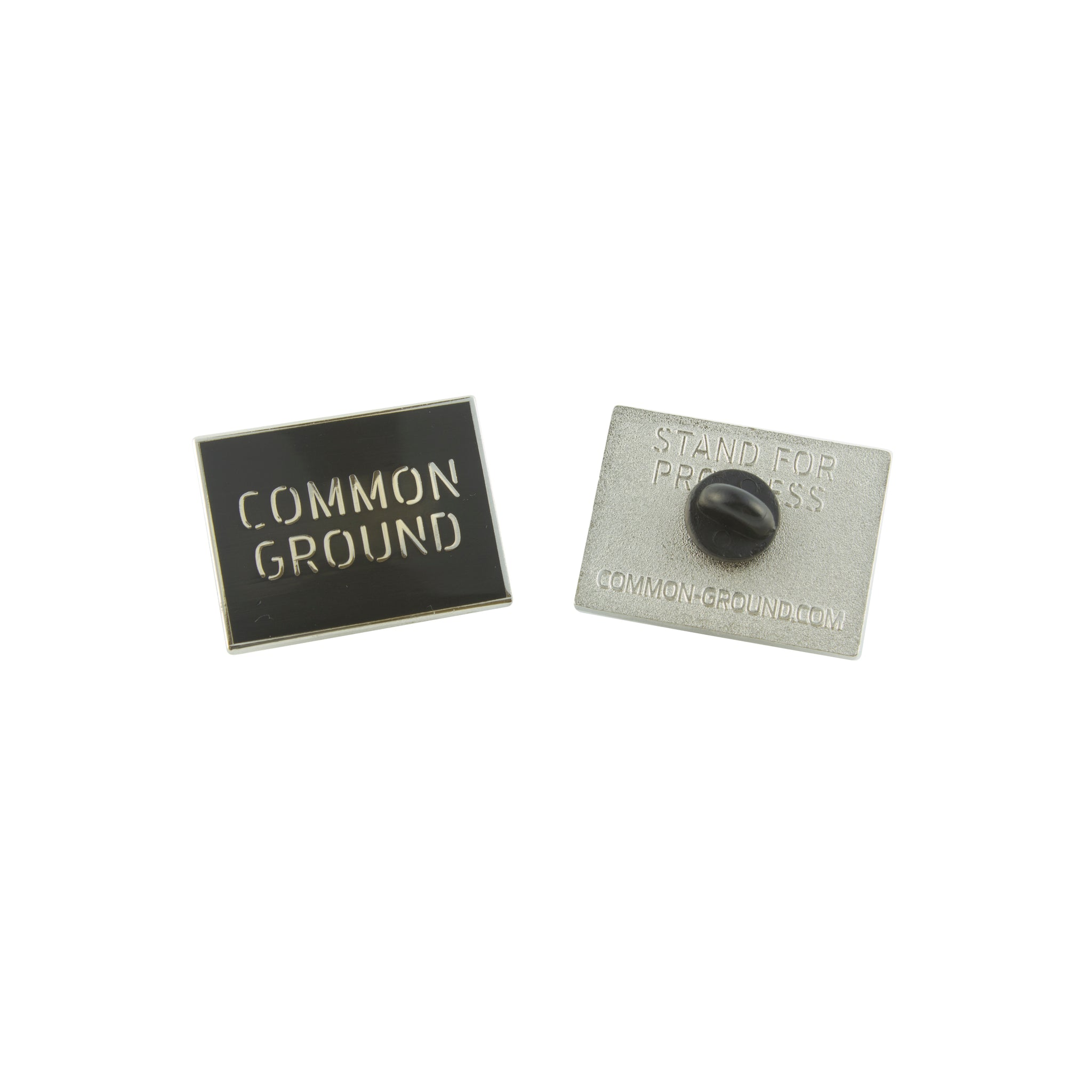 Jet_Black - Common Ground Pin Front and Back View