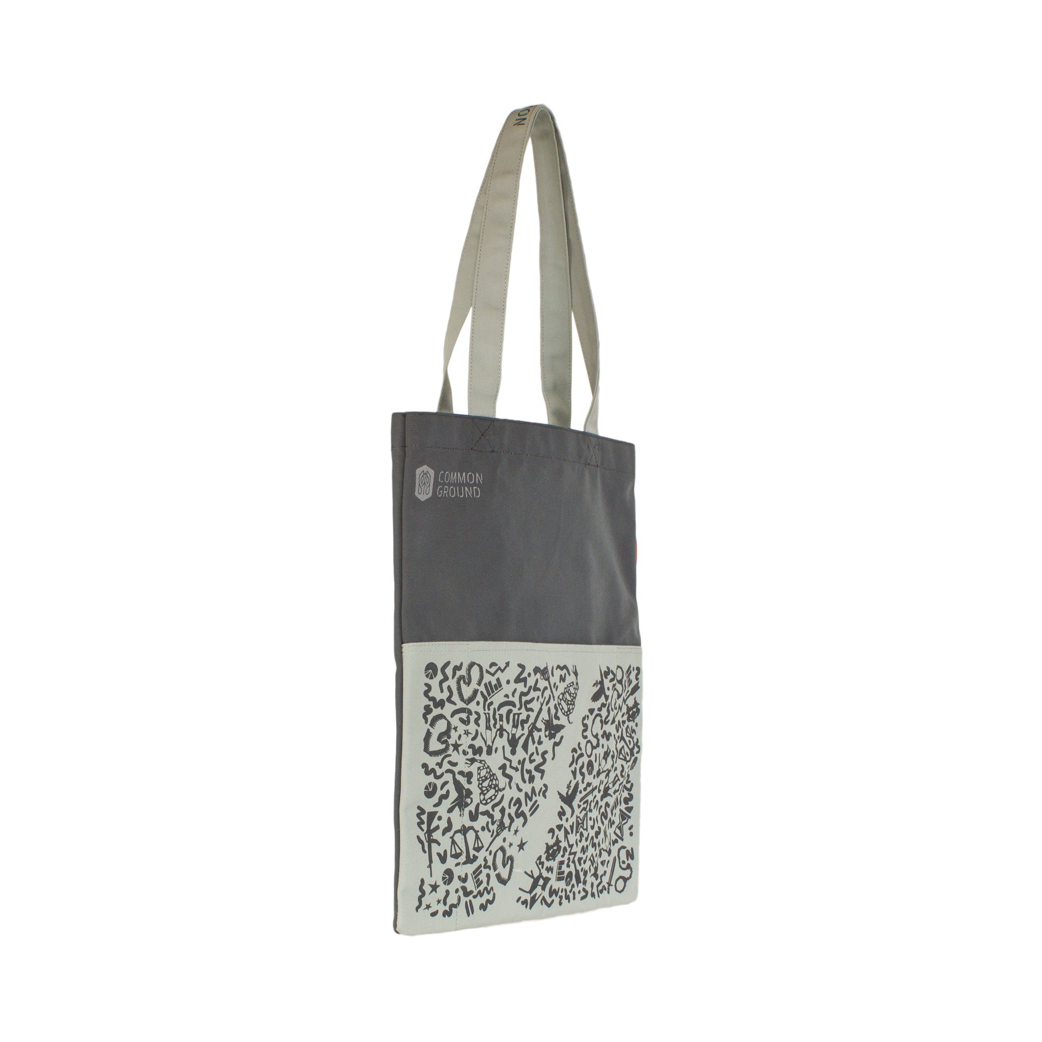 Castle_Rock - Common Ground Reading Tote Three Quarter View
