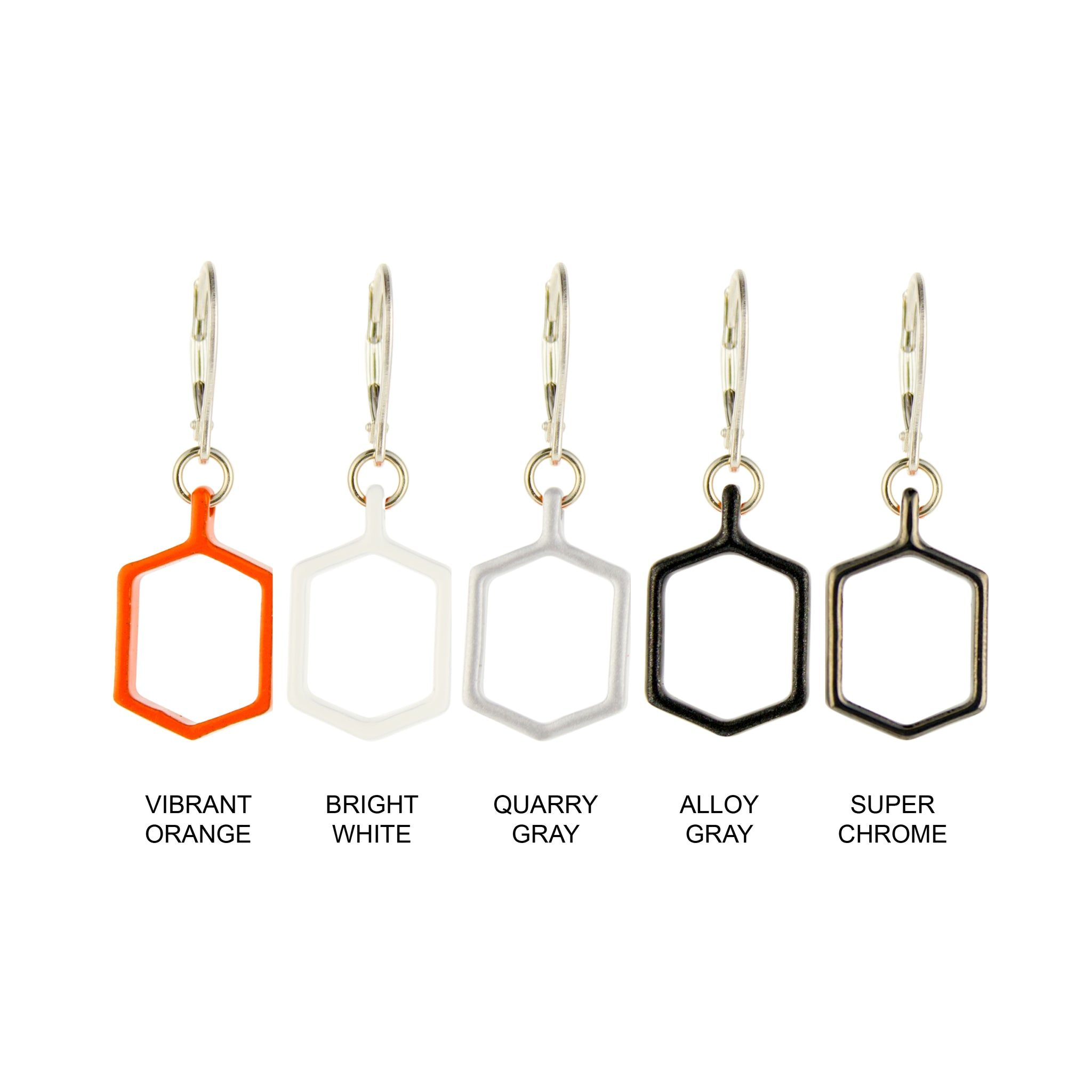 Vibrant_Orange - WITHIN x COMMON GROUND Earring Flat View Colorways