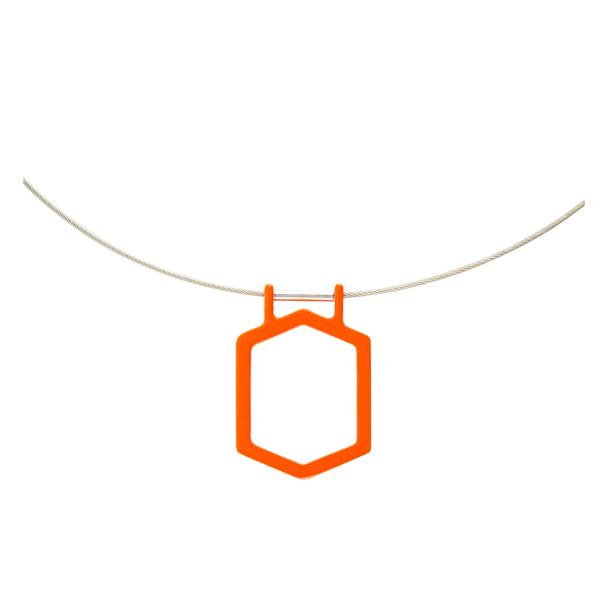 Vibrant_Orange - WITHIN x COMMON GROUND Jewelry Front View