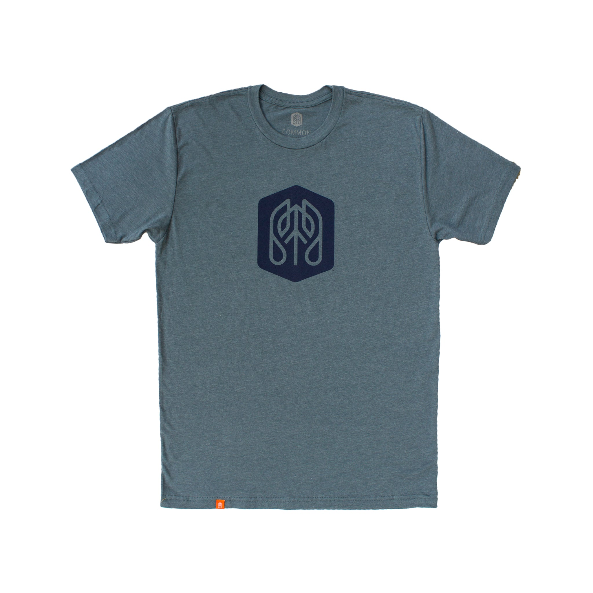 Indigo - Common Ground T shirt Front View