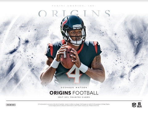 PRE SALE APPROX 8 23 17 2017 Panini Origins Football Hobby 16 Box Case PICK YOUR TEAM BREAK ID 17ORGSFB100