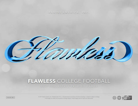 2017 Panini Flawless Collegiate Football Hobby Box PICK YOUR TEAM BREAK ID 17PFLAWCOLLFB150