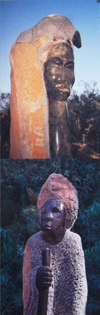 Chapungu African Sculpture Art Bookmark #4 Mythology Culture Boyce Thompson Arboretum