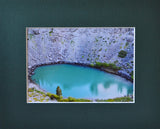 Inyo Crater 8X10 Matted Photo Mono Lake Area Volcanic Formation