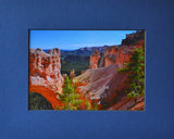 Natural Bridge 8X10 Matted Photo Southwest Bryce Canyon National Park