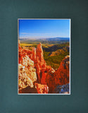 Paria Point 8X10 Matted Photo Southwest Bryce Canyon National Park
