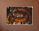 Prehistoric Village 8X10 Matted Photo Lehman Caves Great Basin National Park