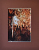 Random Precision 8X10 Matted Photo Shasta Caverns Cave Formation