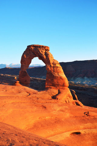 Solitary Splendor 8X10 Matted Photo Southwest Delicate Arch Arches National Park