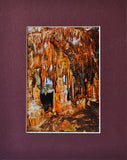 Stalactite Curtains 8X10 Matted Photo Lehman Caves Great Basin National Park