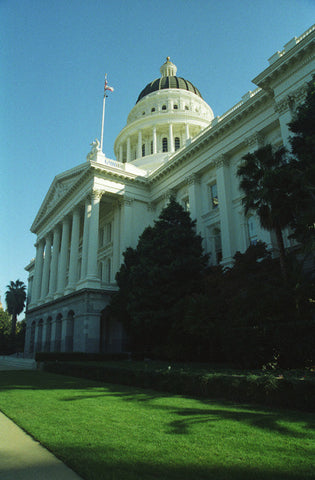 The Capitol Building 8X10 Matted Photo Sacramento California Neo-Greek Architecture