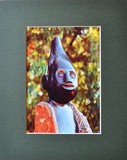Healing Magic 8X10 Matted Photo African Chapungu Sculpture Art