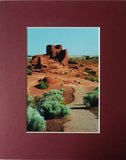 Wukoki Ruins 8X10 Matted Photo Southwest Arizona Wupatki National Monument