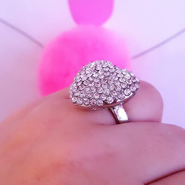 Heart Ring (Size 8 Only)