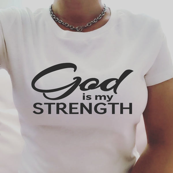 God is my STRENGTH