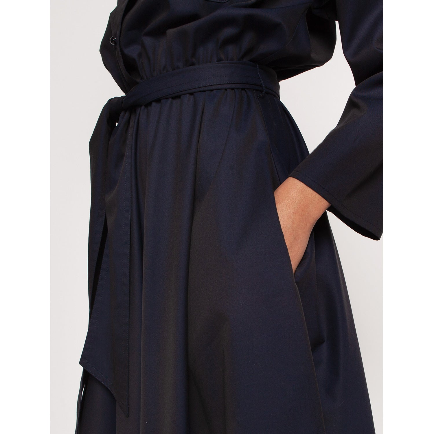 Liz Shirt Dress Navy