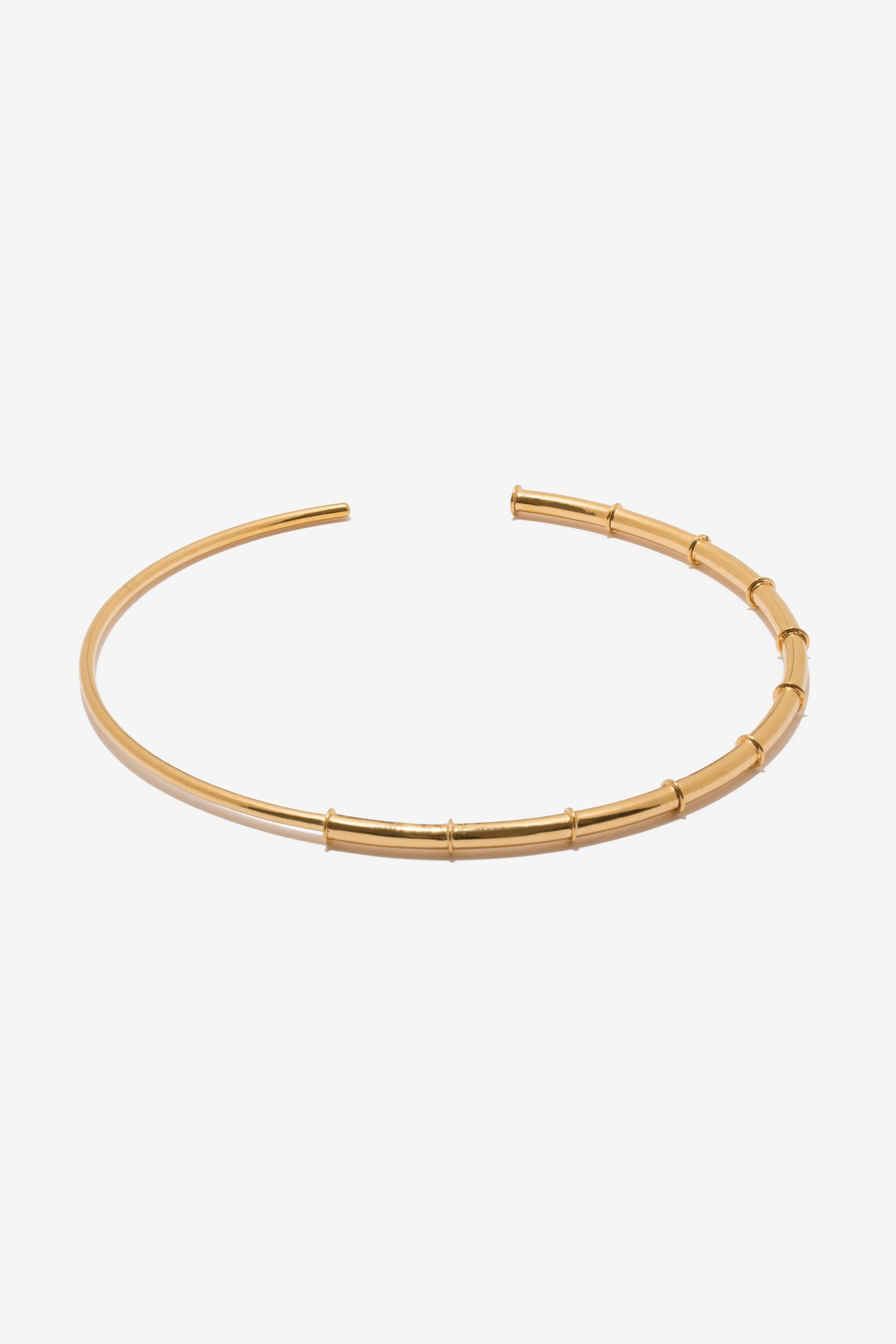 Isida Choker is 24k high polish gold plating and hand made in India by A Peace Treaty