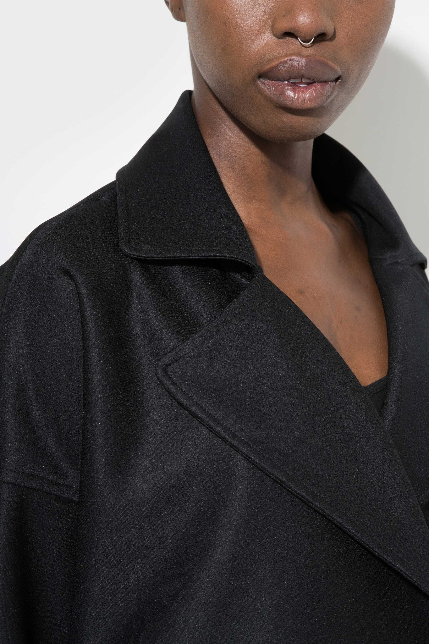 Catherine coat is oversized and slouchy, sporty coat designed by Enda