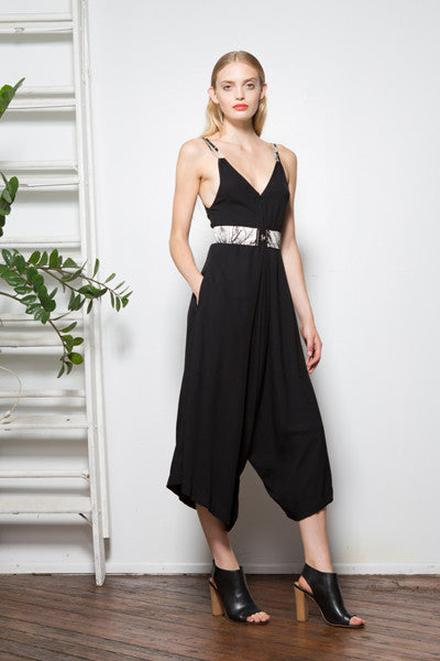 Oni Jumpsuit - Black
