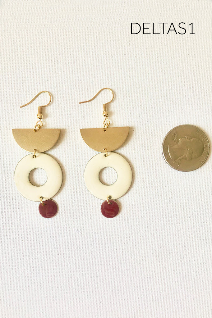 Sororities Earrings - DELTAS