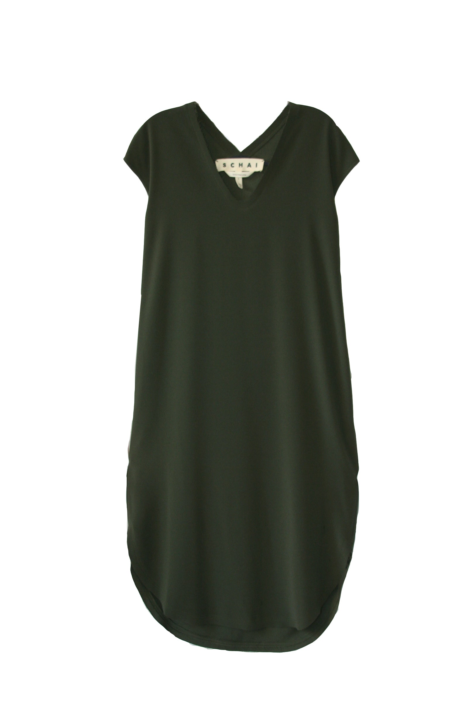Drappo Lean Dress - Olivene