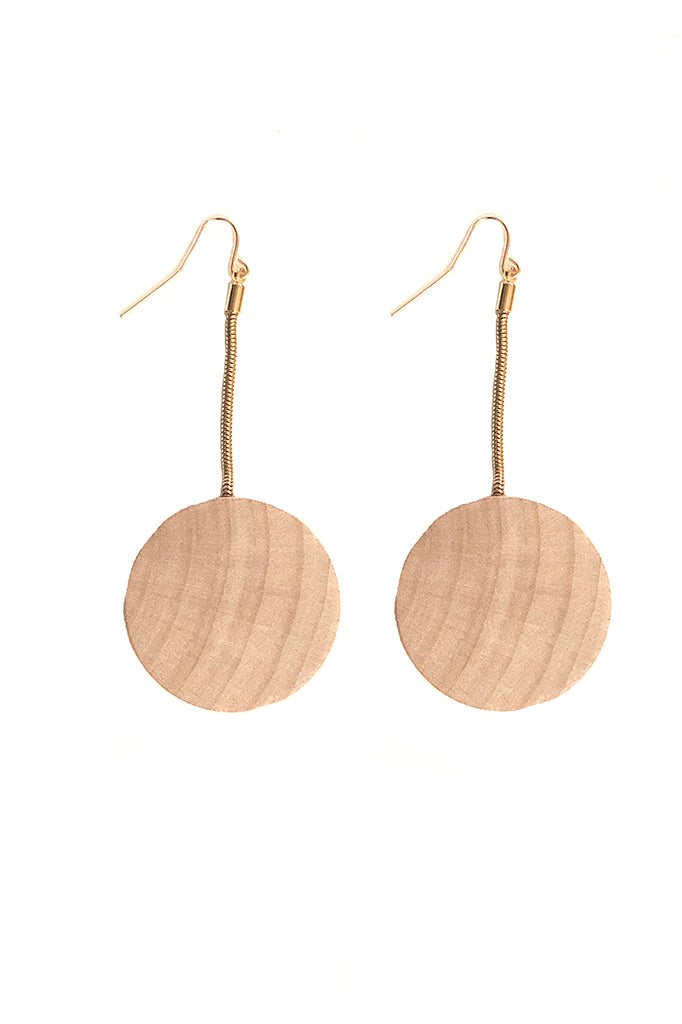 Flat Asymmetrical Earrings