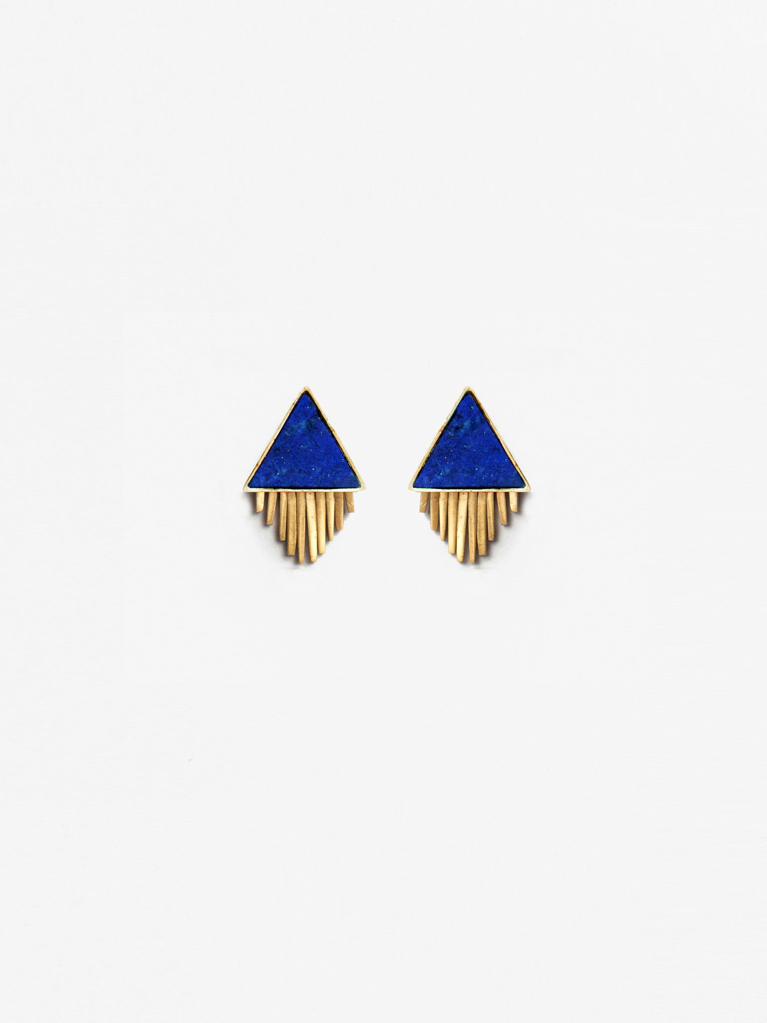 Ilna Lapis Earrings