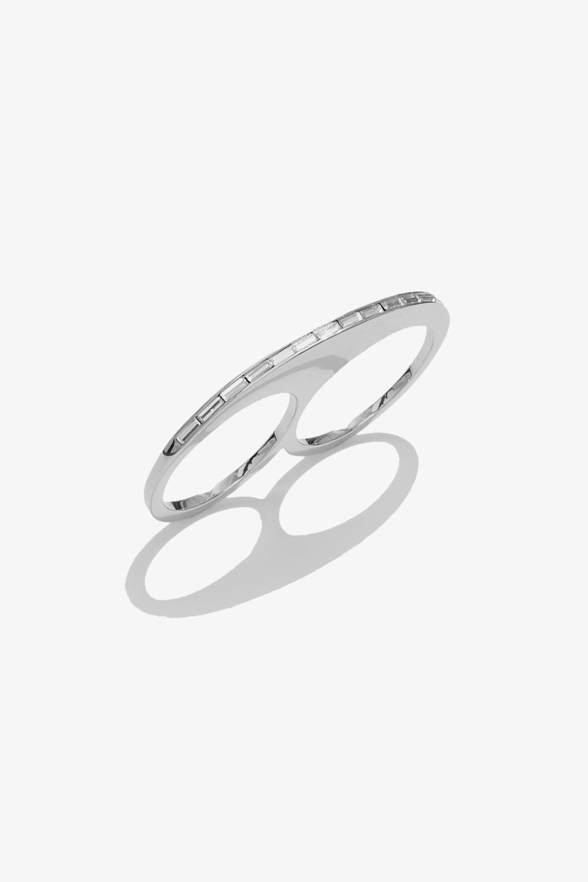 Slice Ring - Rhodium