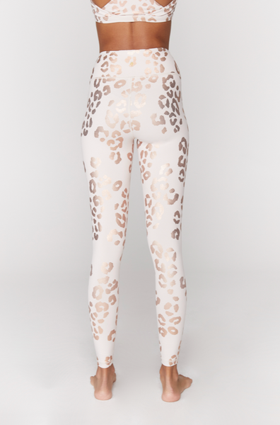 Essential High Waist Legging- Lux Cheetah