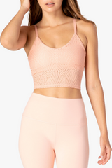 Mesh In Line Cropped Tank