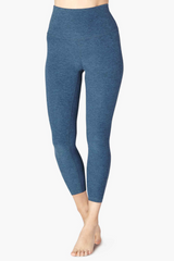 High Waisted Midi Legging - Insignia Navy