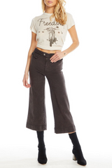 Vintage Canvas High Waist Gaucho