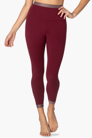 Cross Point High Waisted Midi Legging