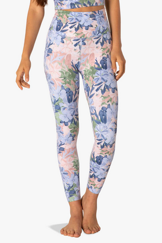 Olympus High Waisted Midi Legging - Botanical Bouquet