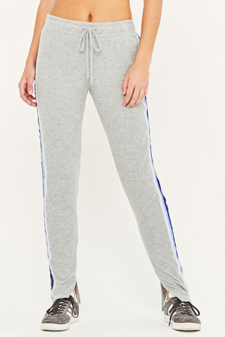 Hometown Striped Cozy Pant