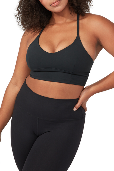 Darted Performance Bra