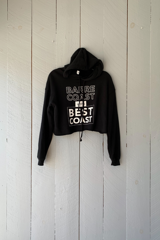 BarreCoast is the Best Coast Cropped Sweatshirt