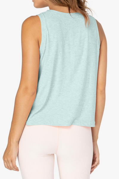 Balanced Muscle Tank - Aqua Mint/Sea Glass