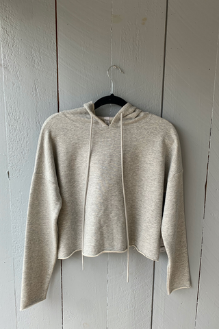 Box Hoodie - Dove Heather Grey