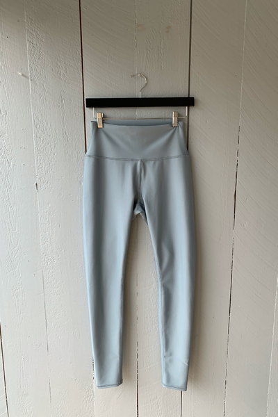High Waist Airlift Legging - Blue Haze