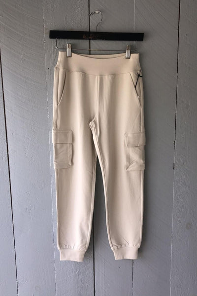 7/8 High Waist Cargo Sweatpant